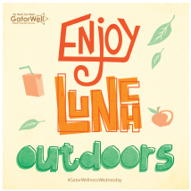 Enjoy Lunch Outdoors Wellness Wednesday 2